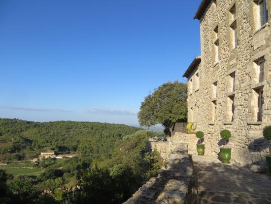 La Roque sur Pernes, França: Vue générale