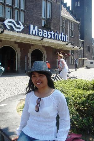 Maastricht Sightseeing Tourist Train: Maastricht, Netherlands