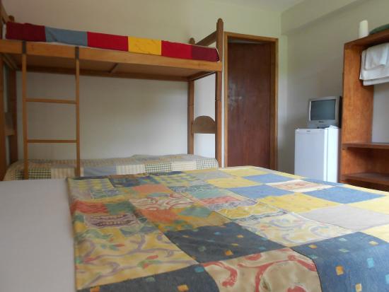 Pousada Sincora: Apartamento quádruplo