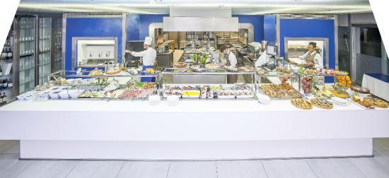 Hotel San Ranieri : Buffet Lunch