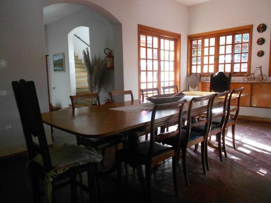 Pousada Sincora: Sala café da manhã e jantar