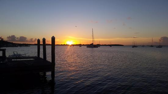 Sunset From Dock Picture Of Sunset Cove Beach Resort Key