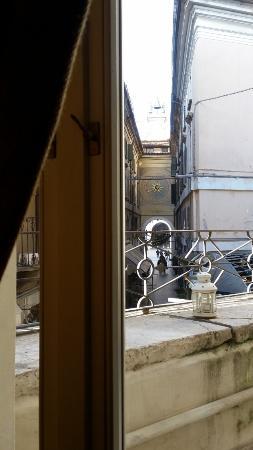 Albergo Orologio: Vista della Torre dell'Orologio dalla camera
