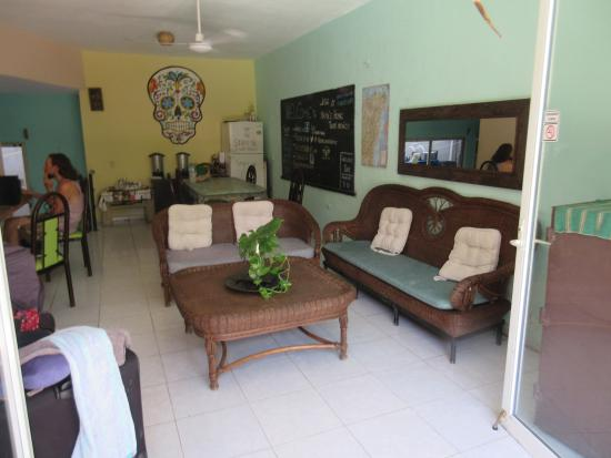 Mama's Home: Indoor common area