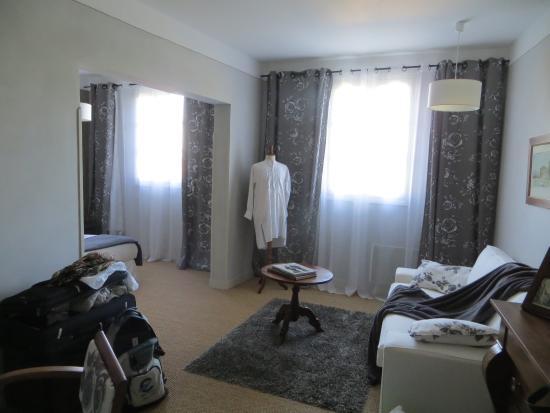 Marquay, ฝรั่งเศส: Le salon de la chambre