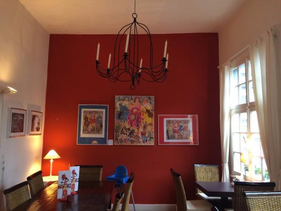 Weekend Espressobar: Interior upper floor