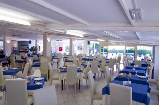 Hotel Delle Mimose: Sala ristorante