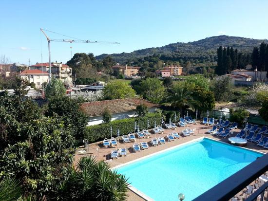Hotel Delle Mimose: Vista della piscina
