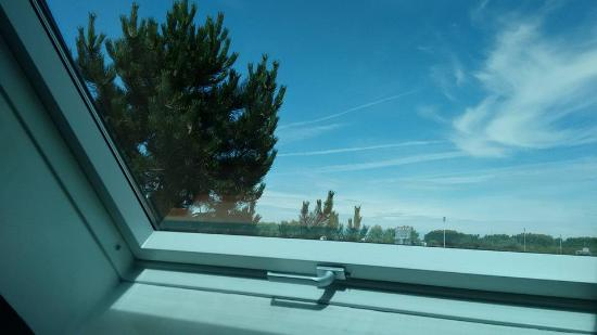 Hotel Morphee : view from the window