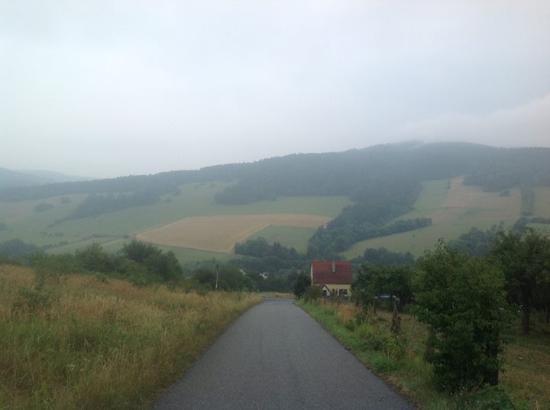 Zitkova, República Tcheca: Výlet okolí hotelu Kopanice