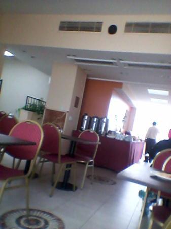 America Plaza Hotel: salón comedor