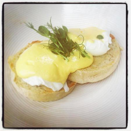 Camps Bay, Sydafrika: Sublime poached egg breakfast