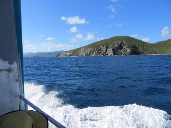 Virgin Gorda: View from the ferry
