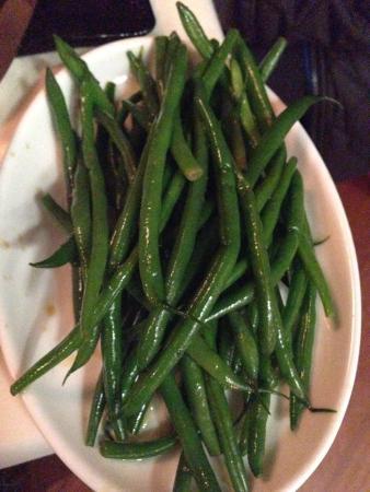 Alexander's Steakhouse: Green Bean side dish