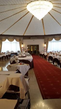 Hotel Grand Torino: Una sala pranzo magnifica! Con personale molto proffessionale .
