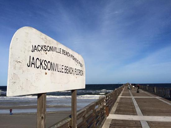 P er picture of jacksonville beach fishing pier for Beach fishing florida