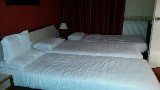 Opera Deauville Hotel: camas comodas