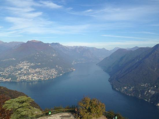 picture of monte san salvatore lugano tripadvisor. Black Bedroom Furniture Sets. Home Design Ideas
