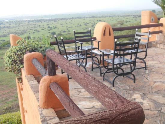African Heritage House: View of Nairobi National Park