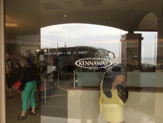 Kennaway Hotel : het hotel gelegen aan de boulevard