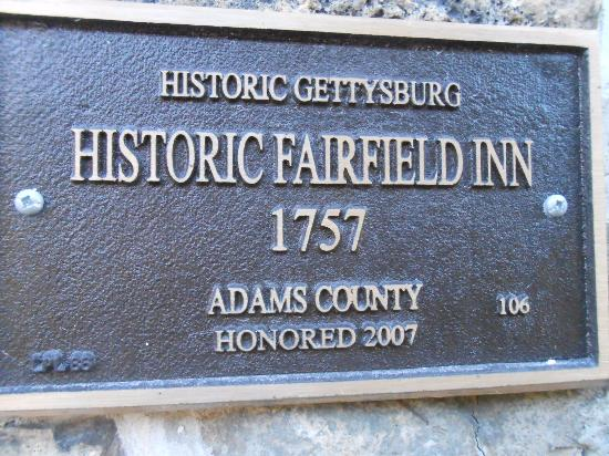 ‪‪Fairfield‬, بنسيلفانيا: Historic Fairfield INN, in operation since 1757‬