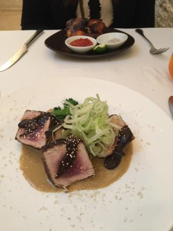 Seared Tuna, Lunch