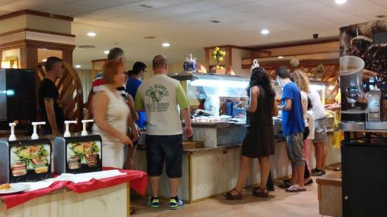 Hotel Esplendid : comedor