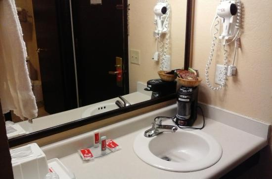 Quality Inn Mineral Point: Sink area