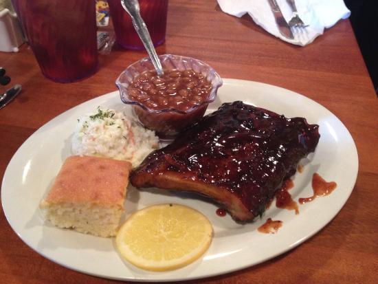 Cumberland, MD: Lunch Rib Combo
