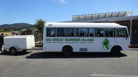 Go Great Barrier Island - Day Tours: On time & a warm friendly greeting from Steve.