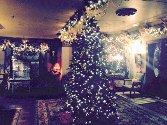 Boardwalk Plaza Hotel: The beautiful tree in the lobby!