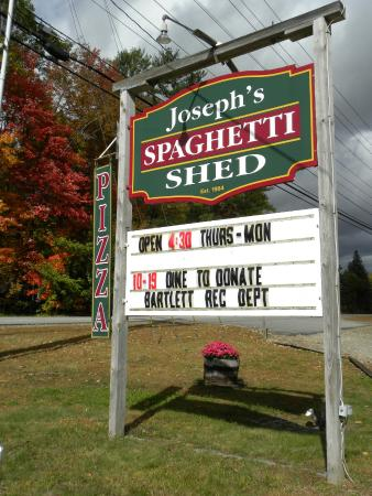 Joseph's Spaghetti Shed: Proud of our Dine to Donate Monday nights!