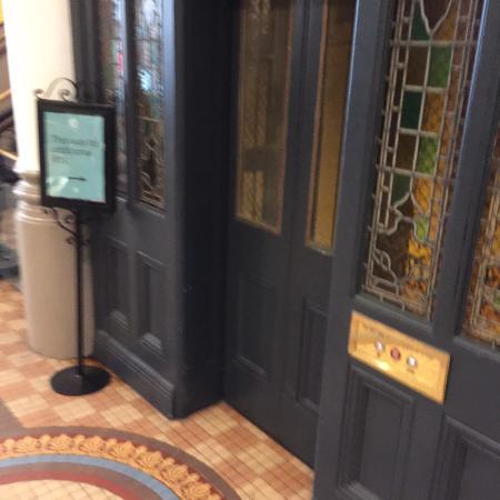 Queen Victoria Building (QVB) lift doors & lift doors - Picture of Queen Victoria Building (QVB) Sydney ...