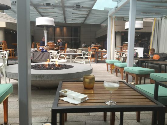 Second Floor Bar And Patio Picture Of Rosewood Hotel