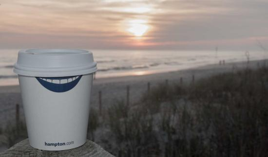 Hampton Inn & Suites Atlantic Beach : Sunset