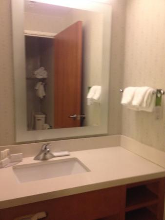 SpringHill Suites Lafayette South at River Ranch: Bathroom Area