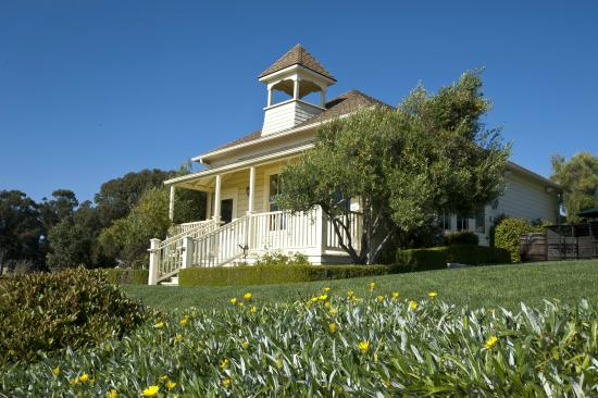 Baileyana: Our Tasting Room - The Independence Schoolhouse