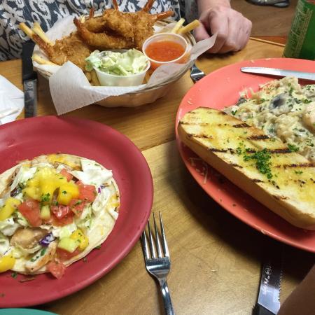 Excellent fish tacos!!