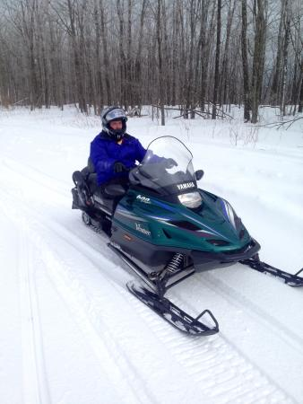 Endless Mountains, Pensylwania: Snowmobiling in Pa