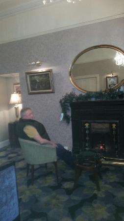 Gleneagle Hotel: Fire side