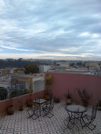 Riad Idrissi : vista Meknes