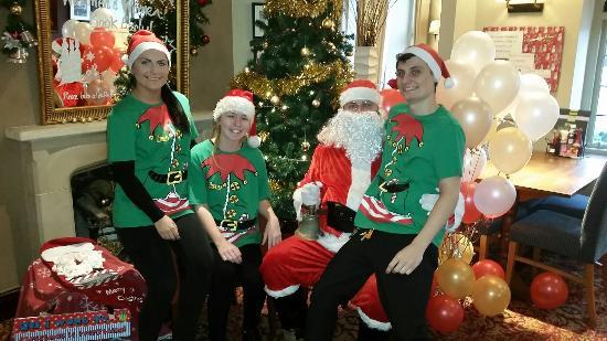 Iver Heath, UK: Santa breakfast fun