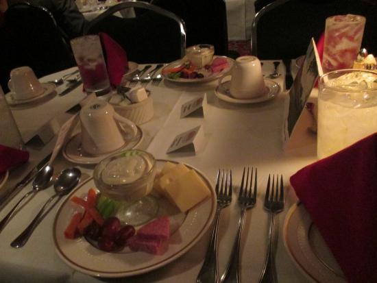 Baldwin City, KS: Our table