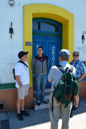 Marcelo Alejandro Mansilla: Marcelo briefed our group on the history of Caminito Street in La Boca District, Buenos Aires