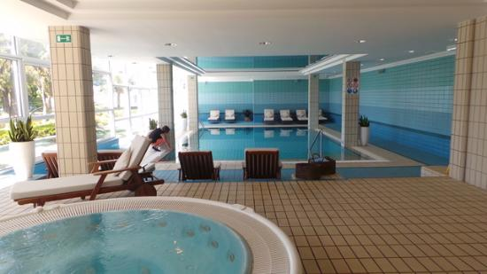 Grand Villa Argentina: Indoor Pool and Spa