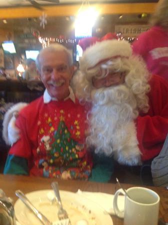 Methuen, MA: Christmas with Santa our family elf on the shelf