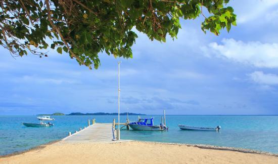 Toberua Island, Fiji: Arrival