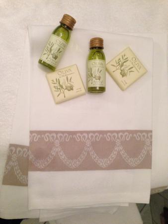 Le Colline: Las toallas
