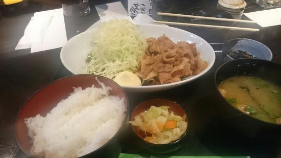 Tsukijiichibaichiba Nochubo: 再訪し、生姜焼き