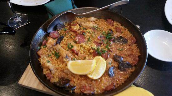 Sah: Meat Paella